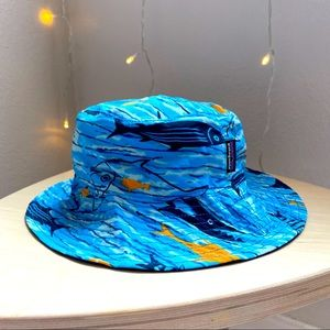 Patagonia baby reversible bucket sun hat